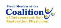 member of the coalition of independent hair restoration physicians